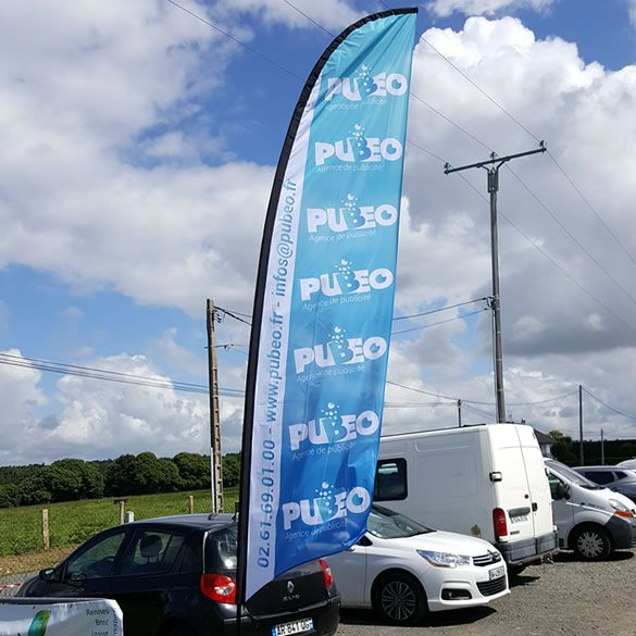Beachflags de 5m PUBEO SAS