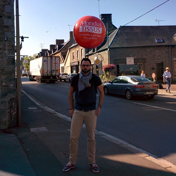 Ballon street Marketing Mondial Tissus
